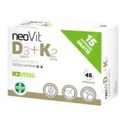 NeoVit D3 + K2, kapsułki miękkie, 45 szt.