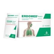 Erdomed Muko, 225 mg, proszek do sporządzania zawiesiny doustnej, 10 saszetek