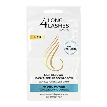 Long 4 Lashes, ekspresowa maska serum do włosów z fitokeratyną HYDRO POWER, 2 x 6 ml