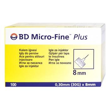 BD PEN igły, (micro-fine), (0,30 x 8 mm), 100 szt