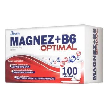 Magnez + B6 Optimal, tabletki, 100 szt.