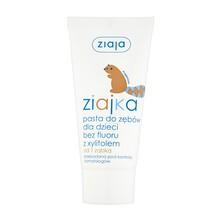 Ziajka, pasta do zębów dla dzieci bez fluoru z xylitolem, tuba, 50 ml