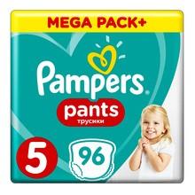 Pampers Pants 5, pieluchomajtki dla dzieci (12-17 kg), 96 szt