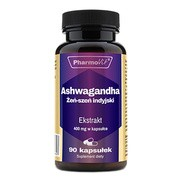 Pharmovit Ashwagandha Żeń-szeń indyjski Ekstrakt 400 mg, kapsułki, 90 szt.