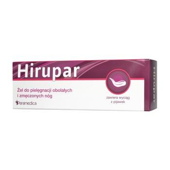 Hirupar, żel do pielęgnacji obolałych i zmęczonych nóg, 100 g