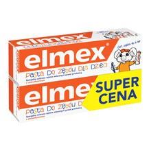Elmex, pasta do zębów dla dzieci z aminofluorkiem od 1 ząbka do 6 lat, 50 ml x 2 opakowania