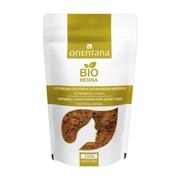 Orientana Bio Henna, naturalna roślinna odżywka do włosów krótkich i półdługich, bezbarwna, 50 g