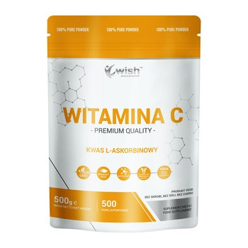 Wish Witamina C, proszek, 500 g