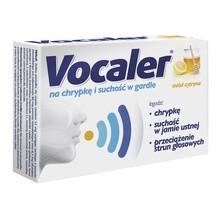 Vocaler, miód cytryna, pastylki do ssania, 24 szt.