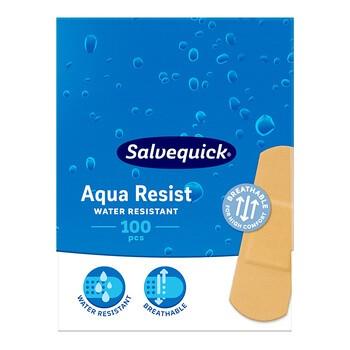 Salvequick, plastry duże, wodoodporne, 100 szt.