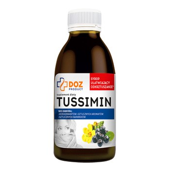 DOZ PRODUCT Tussimin, syrop, 120 ml