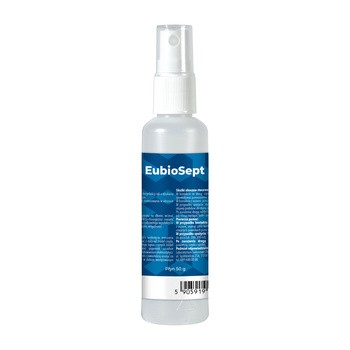 EubioSept, płyn biobójczy do higieny i dezynfekcji rąk, atomizer, 50 ml