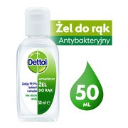 Dettol antybakteryjny żel do dezynfekcji rąk, 50 ml