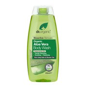 Dr.Organic Aloe Vera, żel do mycia ciała z organicznym aloesem, 250 ml