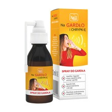 Na gardło i chrypkę, spray do gardła, 30 ml