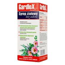 Gardlox 7, syrop ziołowy, bez cukru, 120 ml