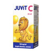 Juvit C, 100 mg/ml, krople doustne, 40 ml