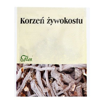 Flos, zioła do kąpieli, korzeń żywokostu, 50 g