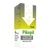 Pikopil, 7,5 mg/ml, krople doustne, 15 ml