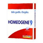 Boiron Homeogene 9, tabletki na ból gardła, 60 szt.