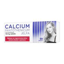 Calcium pantothenicum Jelfa, 100 mg tabletki, 50 szt.