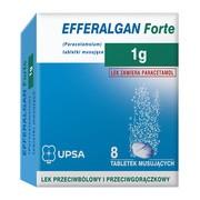 Efferalgan  Forte, 1 g, tabletki musujące, 8 szt.
