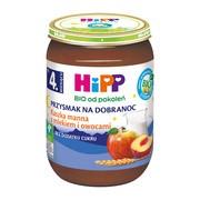 HiPP BIO, kaszka manna z mlekiem i owocami, po 4. miesiącu, 190 g