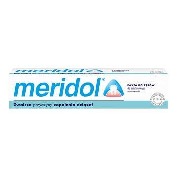 Meridol, pasta do zębów, ochrona dziąseł, 75 ml