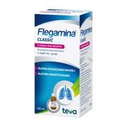Flegamina, 4 mg/5 ml, syrop o smaku malinowym, 120 ml