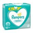 Pampers Sensitive, chusteczki nawilżane dla niemowląt, 4 x 52 szt.