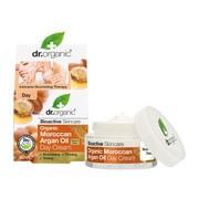 Dr. Organic Argan, krem na dzień z olejkiem arganowym, 50 ml