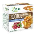 ZIELNIK DOZ Herbata Rooibos Manuka, 1,7 g, 20 saszetek