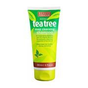 Beauty Formulas, oczyszczający szampon do włosów, Tea Tree, 200 ml