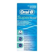 Oral-B Superfloss, nić dentystyczna, 50 szt.