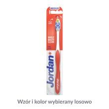 Jordan Total Clean Medium, szczoteczka do zębów, średnia, 1 szt.