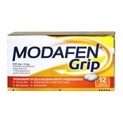 Modafen Grip, 200 mg + 5 mg, tabletki powlekane, 12 szt.