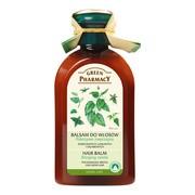 Green Pharmacy, balsam do włosów zniszczonych i łamliwych, pokrzywa, 300 ml