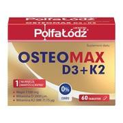 OsteoMax D3+K2, tabletki, 60 szt.