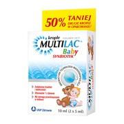 Multilac Baby, krople, synbiotyk, 5 ml x 2 szt.