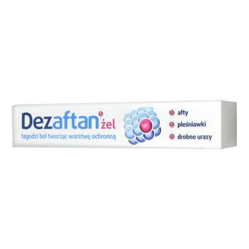 Dezaftan, żel do stosowania w jamie ustnej, 8 g