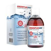 Argentum 200 (50ppm), srebro koloidalne, tonik, 500 ml