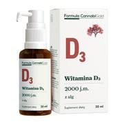 Formula CannabiGold Witamina D3 z alg, olej, 30 ml
