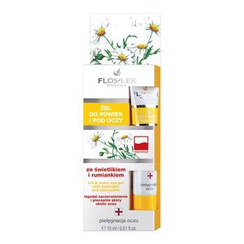 FlosLek Pharma, żel do powiek i pod oczy, ze świetlikiem i rumiankiem, 15 ml