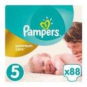 Pampers Premium Care 5, (11-16 kg), 88 szt.