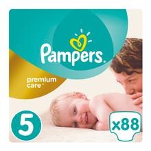 Pampers Premium Care 5, (11-16 kg), 88 szt.
