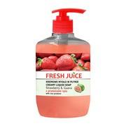 Fresh Juice, kremowe mydło w płynie, strawberry & guava z proteinami ryżu, 460 ml