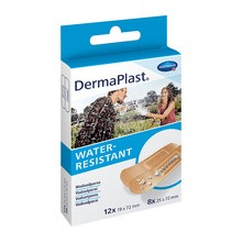 Dermaplast Water Resistant, plastry, 20 szt.
