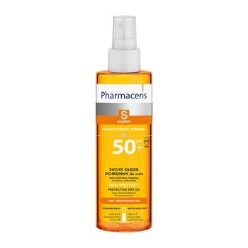 Pharmaceris S, suchy olejek ochronny do ciała, SPF 50+, 200 ml