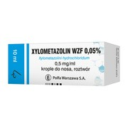 Xylometazolin 0.05%, krople do nosa, 10 ml (Polfa Warszawa)