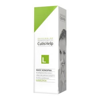 CutisHelp Łuszczyca, maść konopna na noc, do pielęgnacji skóry z łuszczycą, 100 ml
